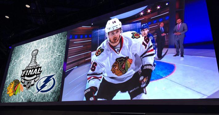 Hockey Big Screen HD LED