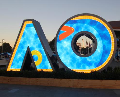 Australian Open Custom Digital Display LED Screens Artwork