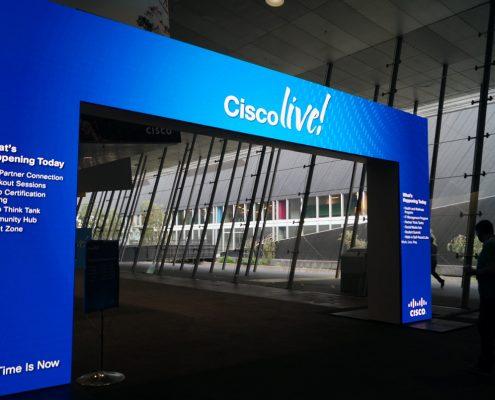 Cisco Custom LED Display