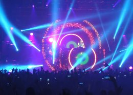 David Guetta Stage Digital Display LED Screens