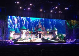 Disney Frozen Ever Theme Park Stage LED Wall Digital Display