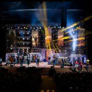 Gospel Skouspel Stage Digital Display LED Screens
