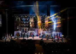Gospel Skouspel Stage Digital Display LED Screens