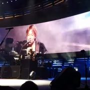 Keith Urban Curved LED Screen Video Wall