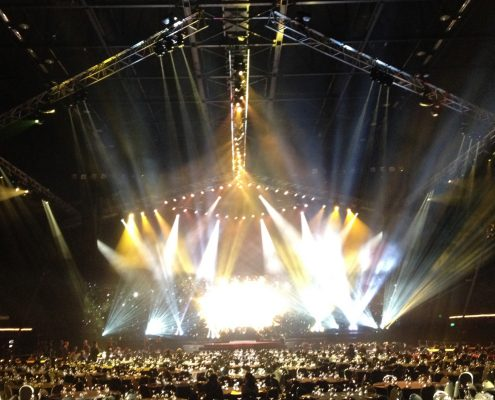 New Zealand Music Awards Concert Stage Digital Display