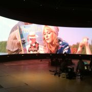 Volkswagen Curved LED Screen Video Wall