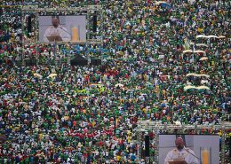Pope Francis LED Screens Digital Display