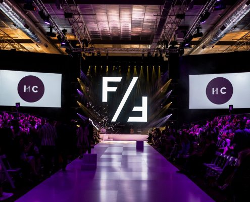 FashFest Fashion Show Runway Digital Display LED Screens