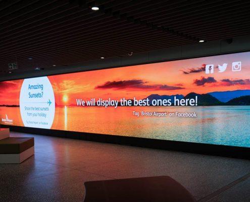 Bristol Airport has a Facebook tag