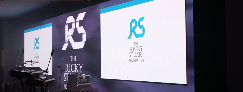 The Ricky Stuart Foundation Event LED Digital Display