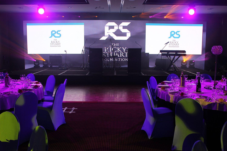 The Ricky Stuart Foundation Event LED Digital Display
