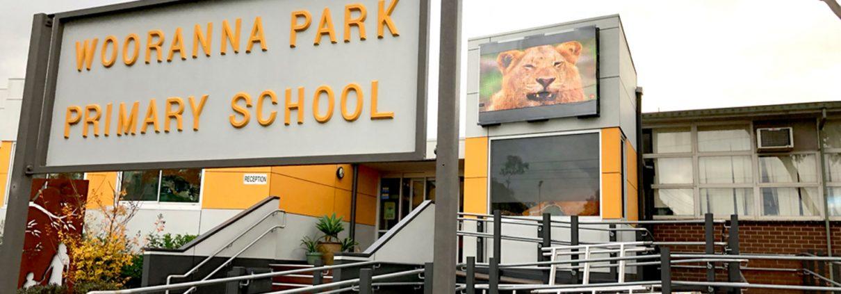 Woorana Park Primary School Outdoor LED Sign Digital Billboard Advertising