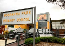 Woorana Park Primary School Outdoor LED Sign Digital Billboard Advertising