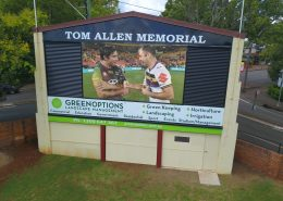 Toowoombah Tom Allen Memorial Field LED Screen Digital Scoreboard