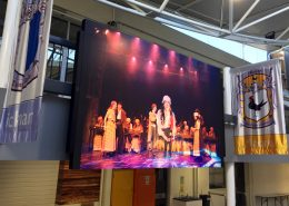 Vuepiz Carey Baptist Grammar LED Display Big Screen