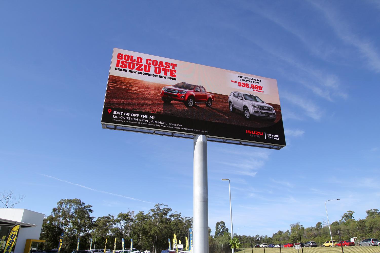 large outdoor digital billboards