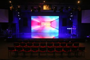 metro church large LED screen 2