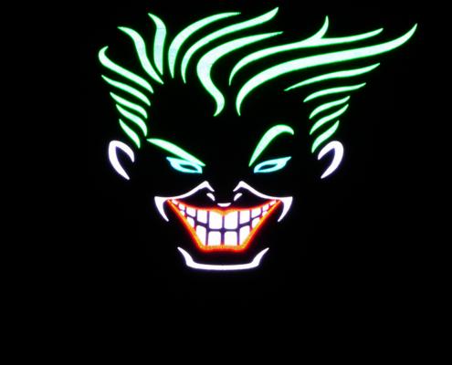 Joker creative led sign