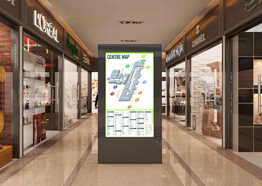 LCD kiosk