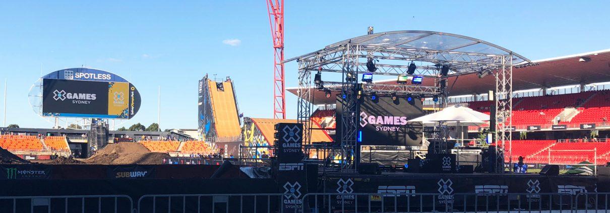 X games outdoor digital billboard