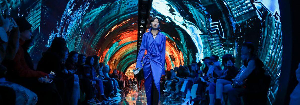 paris fashion week creative led displays