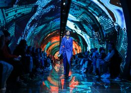 paris fashion week creative led displays